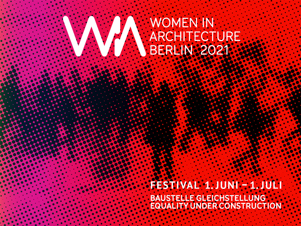 Banner of the Women in Architecture Festival2021
