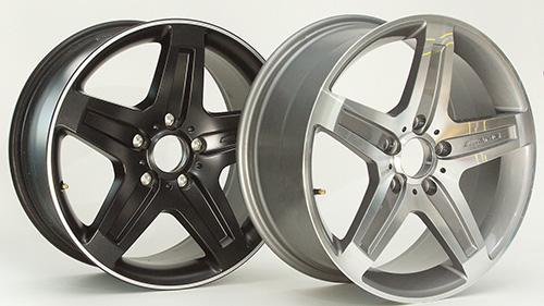 Daimler Felgen - Original und Fälschung
