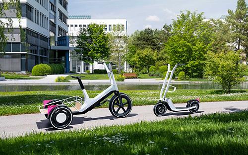 BMW Group stellt innovative Konzepte für Lastenrad und E-Scooter vor