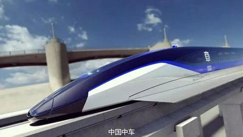China develops new maglev train