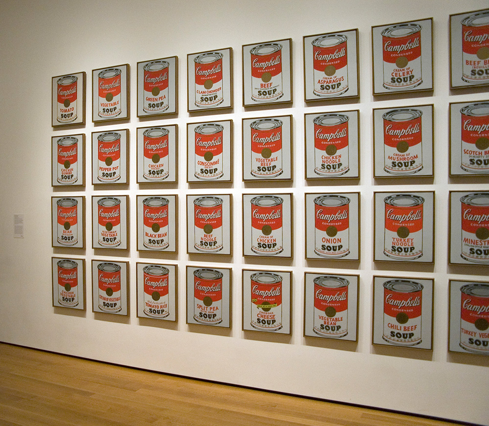 Andy Warhol - Campbell's Soup Cans MOMA