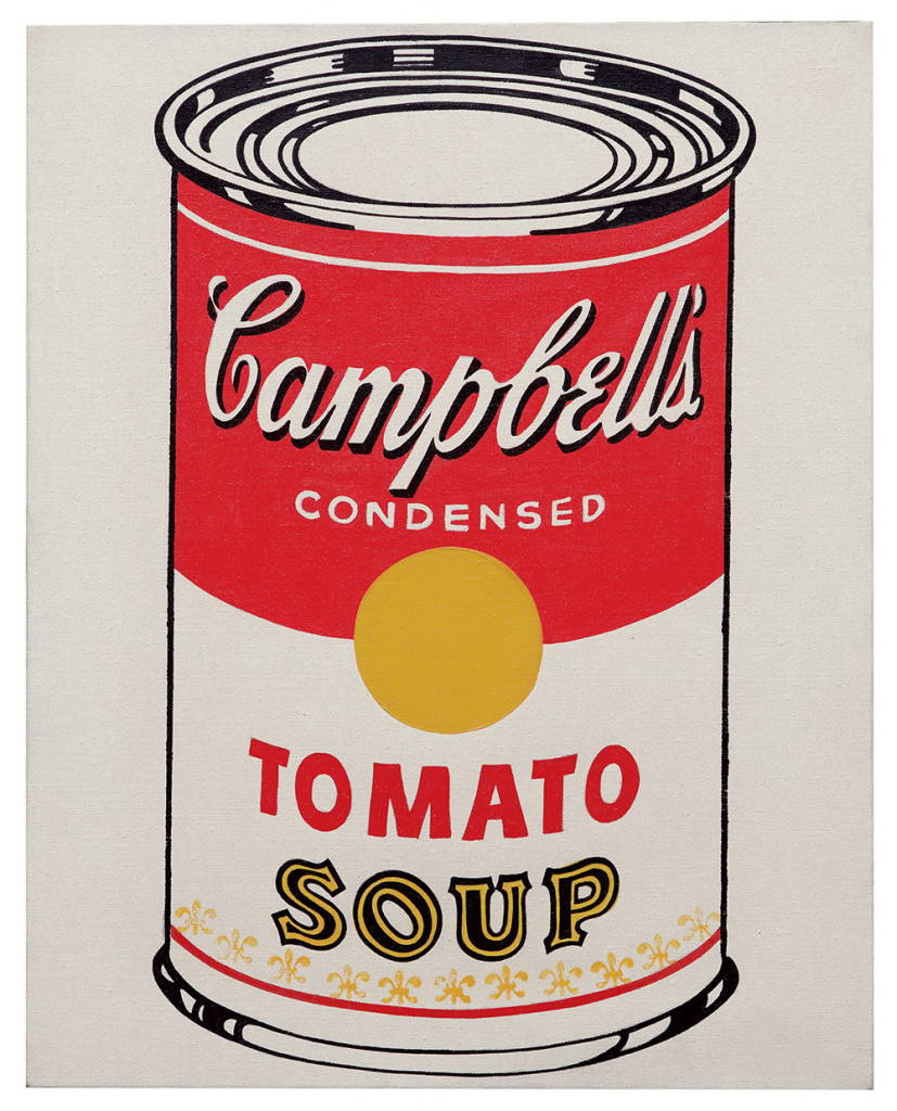 Campbell's Soup Can (Tomato) - Andy Warhol, 1962