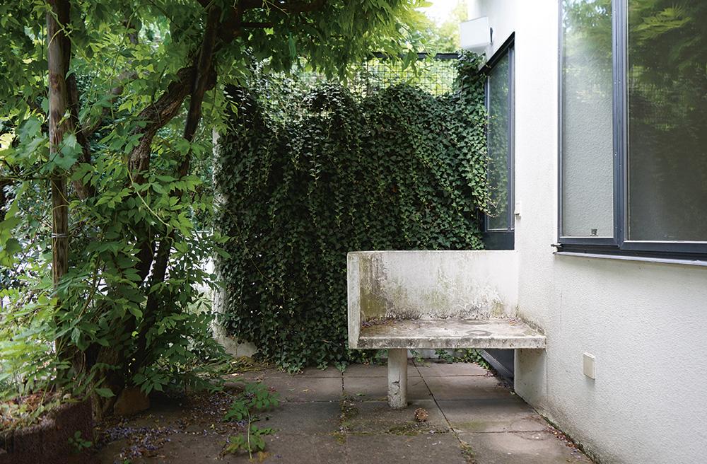 Reihenhaus in der Stuttgarter Weißenhofsiedlung