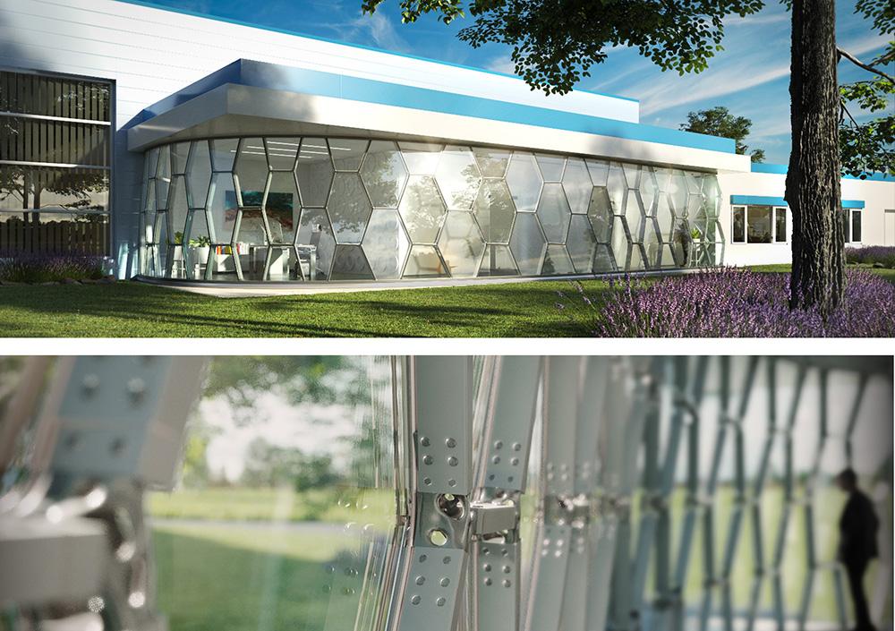 """3DPC 2021 Winner Architektur"": HivE"