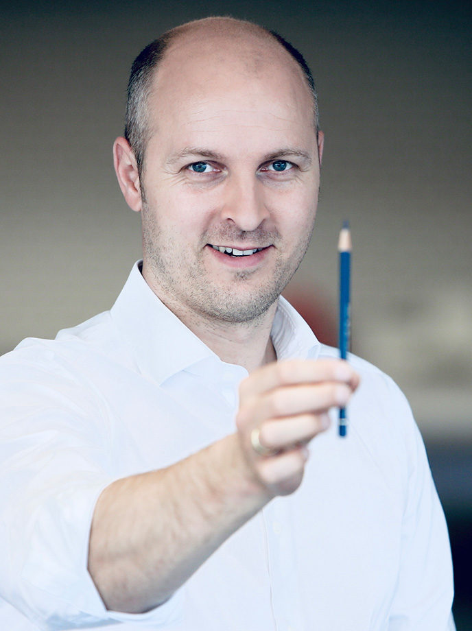 Philipp Eberl, Head of Global Design bei Festo