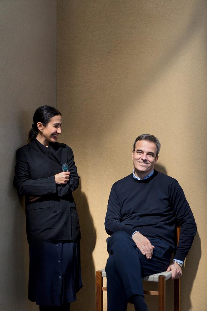 e15 Gründer Philipp Mainzer und Farah Ebrahimi