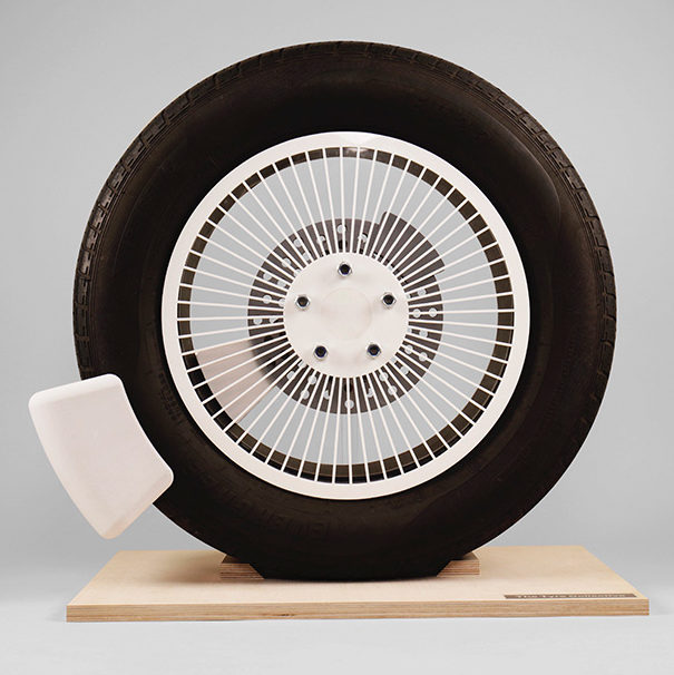 The Tyre Collective device