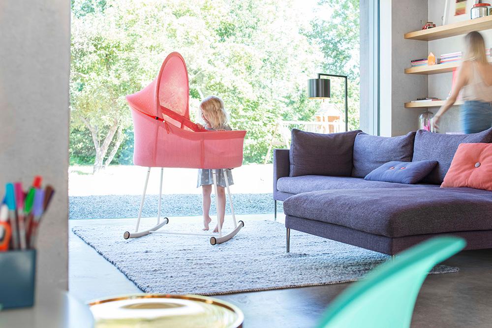 Mit seinem nachhaltigen Produktdesign, Materialien und Langlebigkeit wird nido ein Teil der Familie