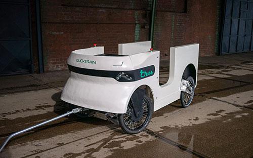 Trailerduck und Ducktrain sind Cargo-Lösungen mit Elektroantrieb.
