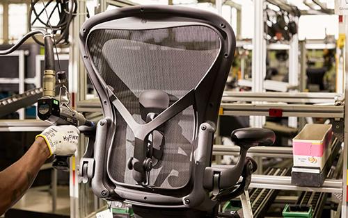 Der revolutionäre Aeron Chair.