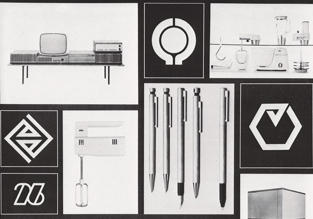 Collage Gerd A. Müller. Der unbekannte Designer