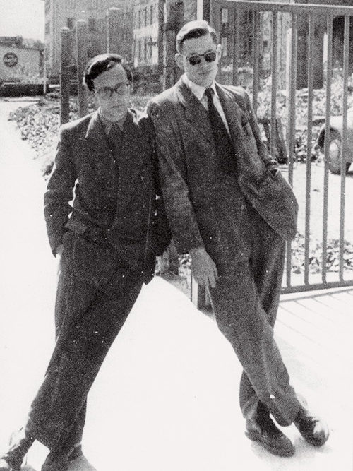 Gerd A. Müller and Dieter Rams (around 1950)