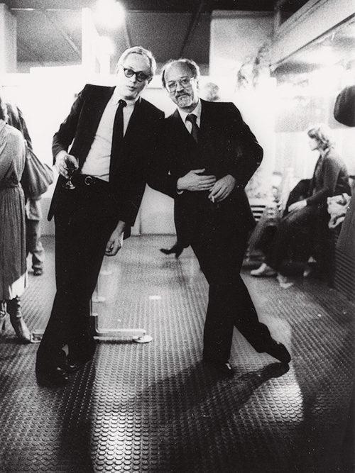 Dieter Rams and Gerd A. Müller 1980