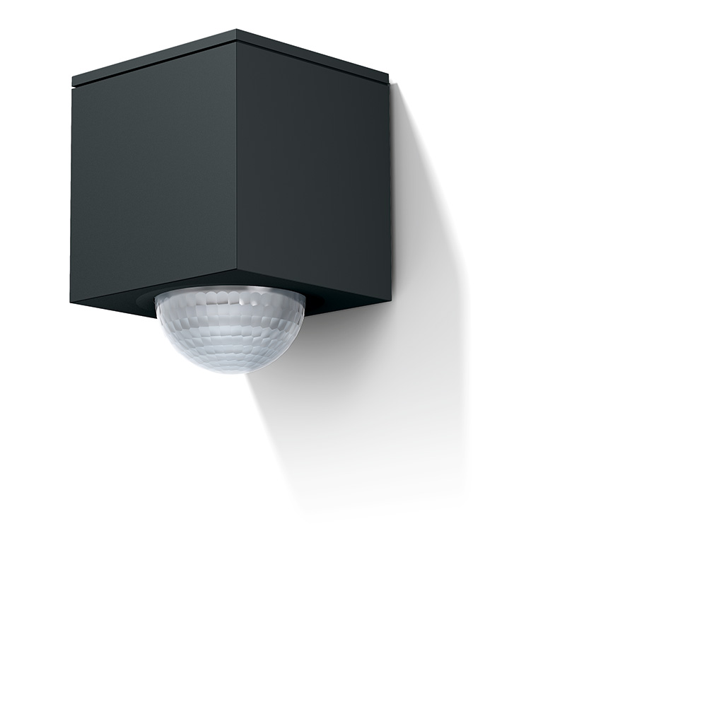 Gira Cube in anthracite.