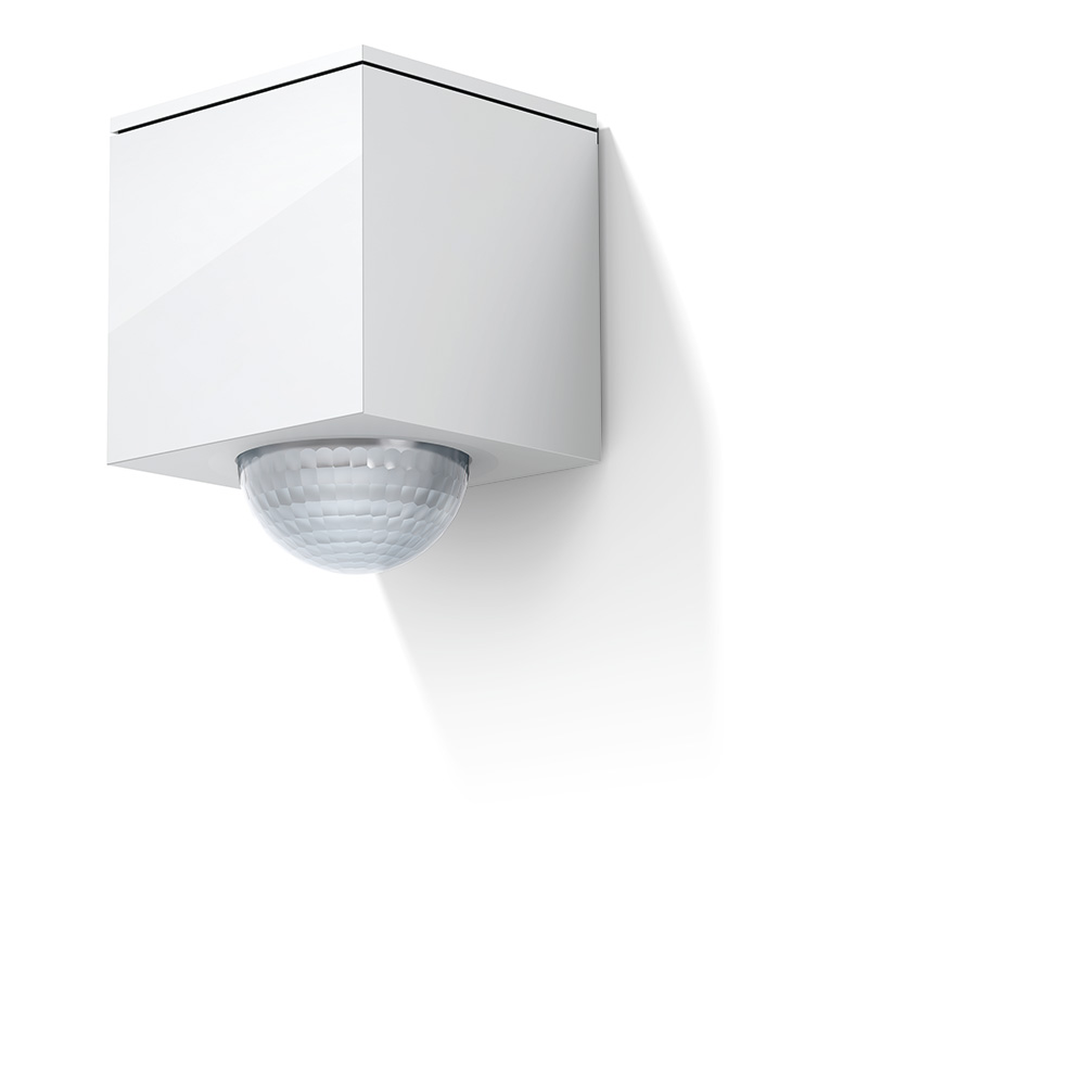 Gira Cube in white.