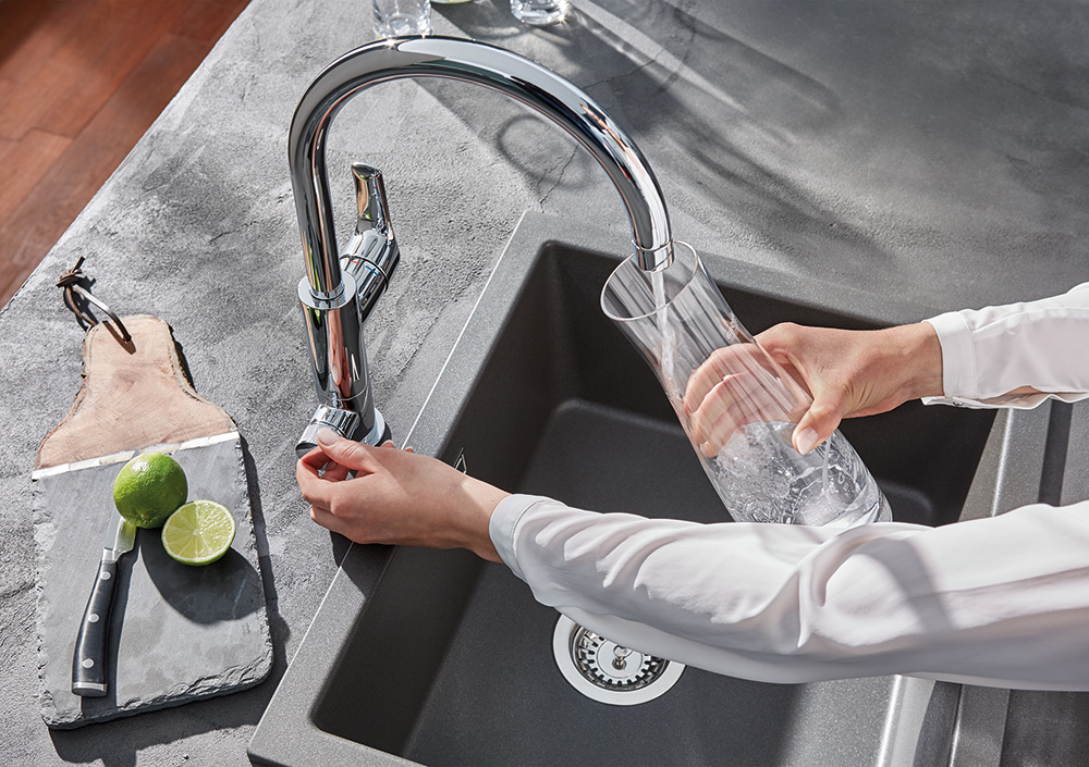 Sustainable product design: GROHE Blue Pure water system