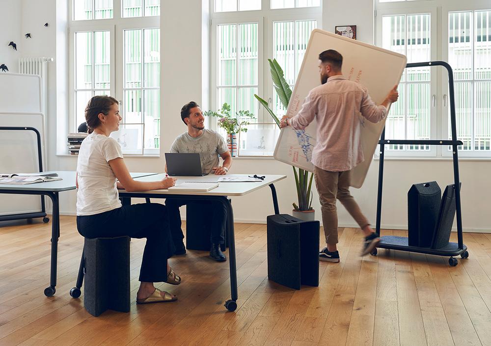 TAKEoSEAT easily creates new sitting spaces