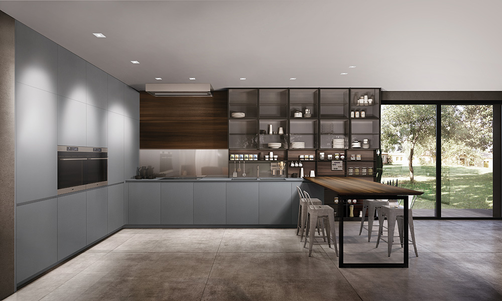 Combina D: Flexible home styling for the showroom or at home