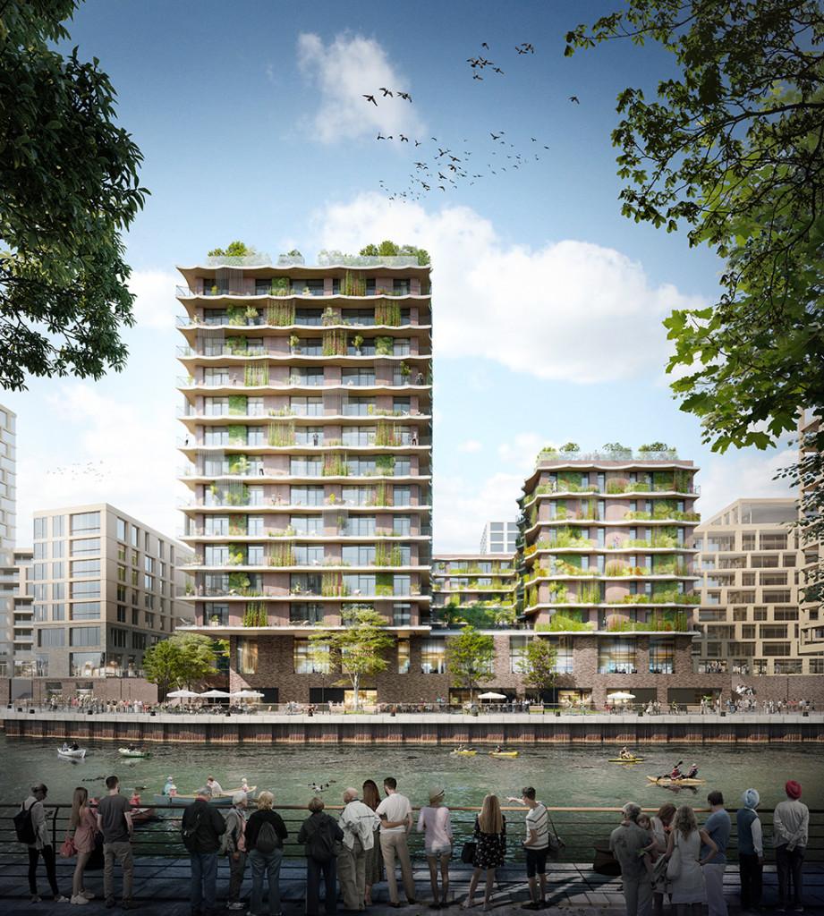 Circular Design in der Architektur: Das Moringa Wohngebäude in Hamburg wird nach Cradle to Cradle-Prinzipien mit rezyklierbaren Materialien und flexiblen Grundrissen gebaut
