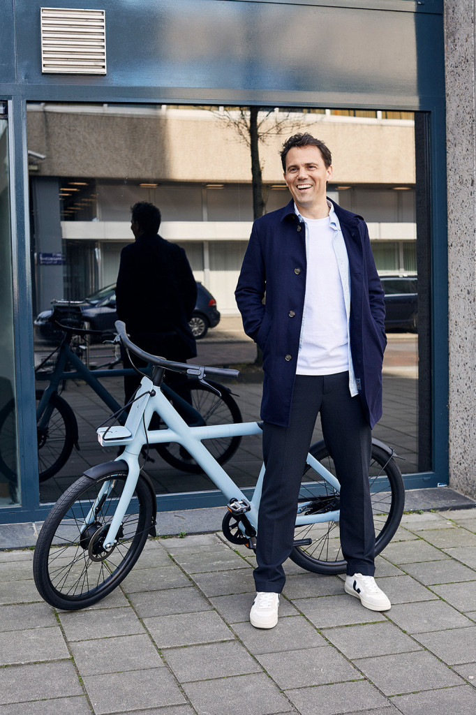 Taco Carlier. Industriedesigner, Chief Executive Officer, VanMoof