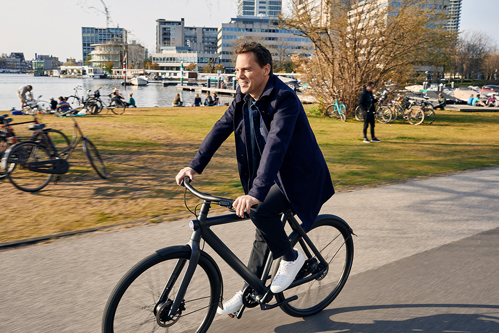 Taco Carlier lives bicycle mobility