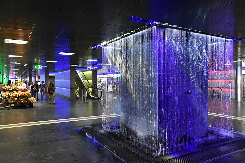 Zurich Central Station Shopville by Robert Haussmann