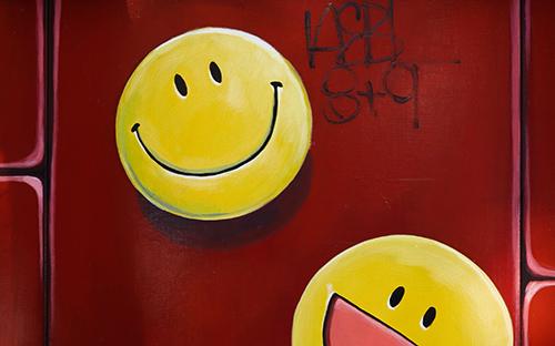 Der Smiley im WDR-Podcast: Viel Ärger um ein Lächeln