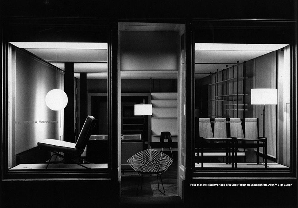 Vorlass Trix and Robert Haussmann.