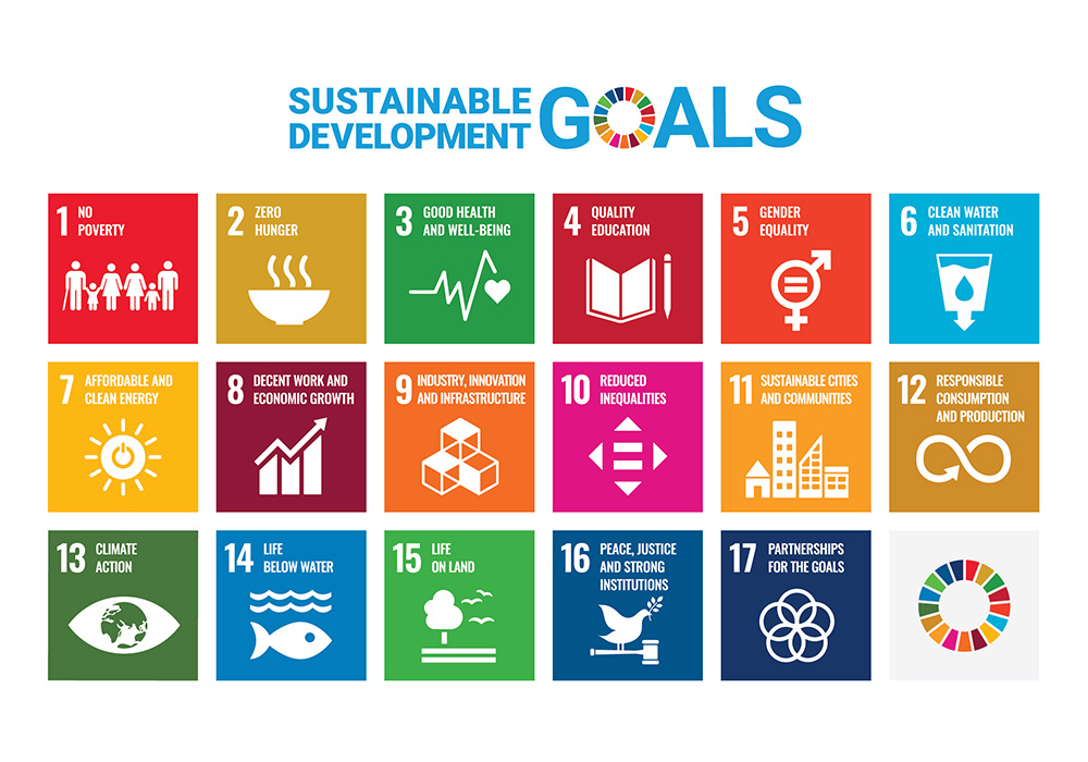 The United Nations' 17 Sustainable Development Goals (SDGs)