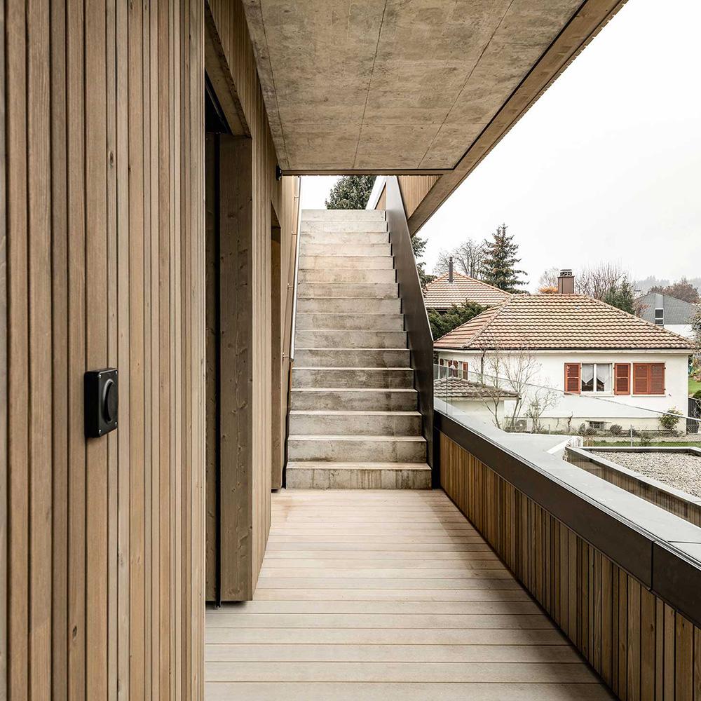 Wohnbau in Gümligen (Schweiz) von Marazzi + Paul Architekten