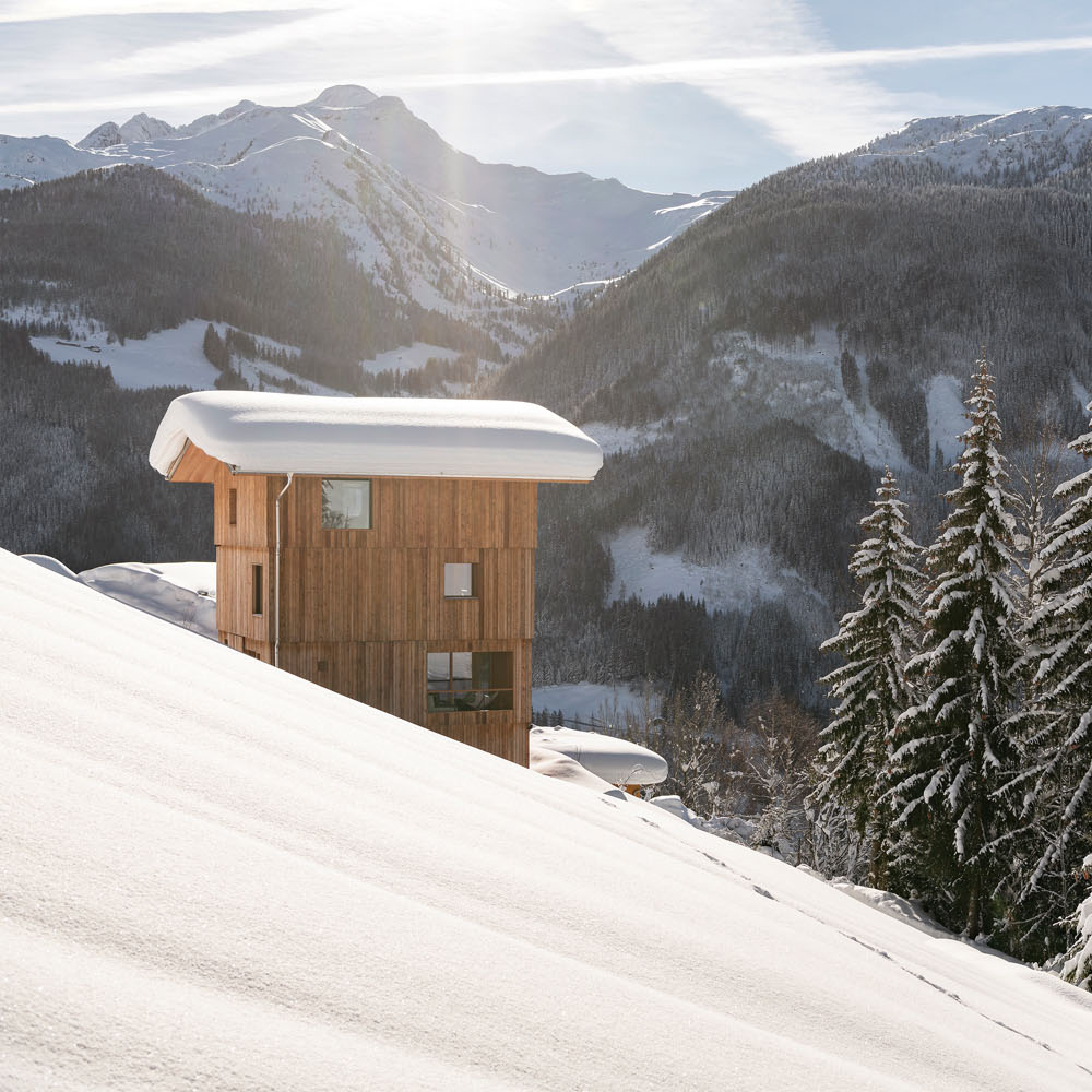 Tempel 74 in Mellau (Österreich) von Jürgen Haller Architekten