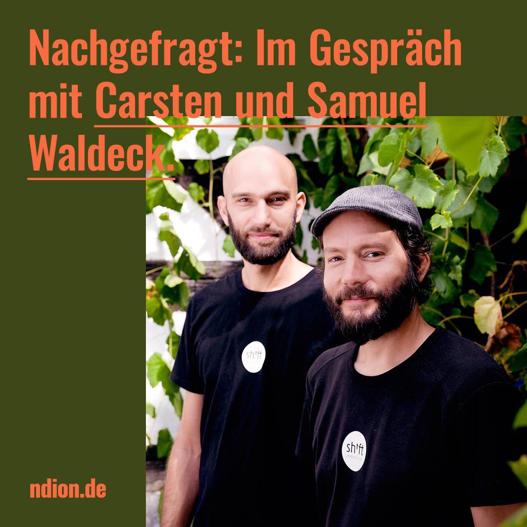 Nachgefragt: Carsten und Samuel Waldeck, Designer des Shiftphone